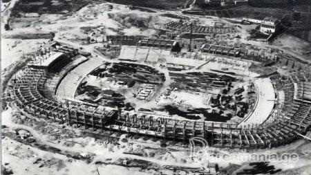 ნოუ კამპი მშენებლობის დროს